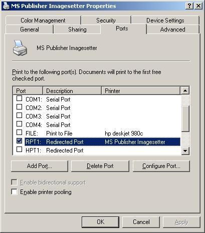 Setting a Tiff Printer for Windows Using GhostScript